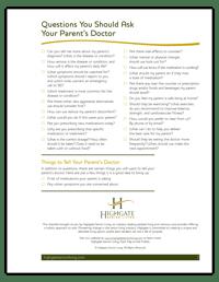 Highgate-Checklist-QuestionsYouShouldAskYourParentsDoctor